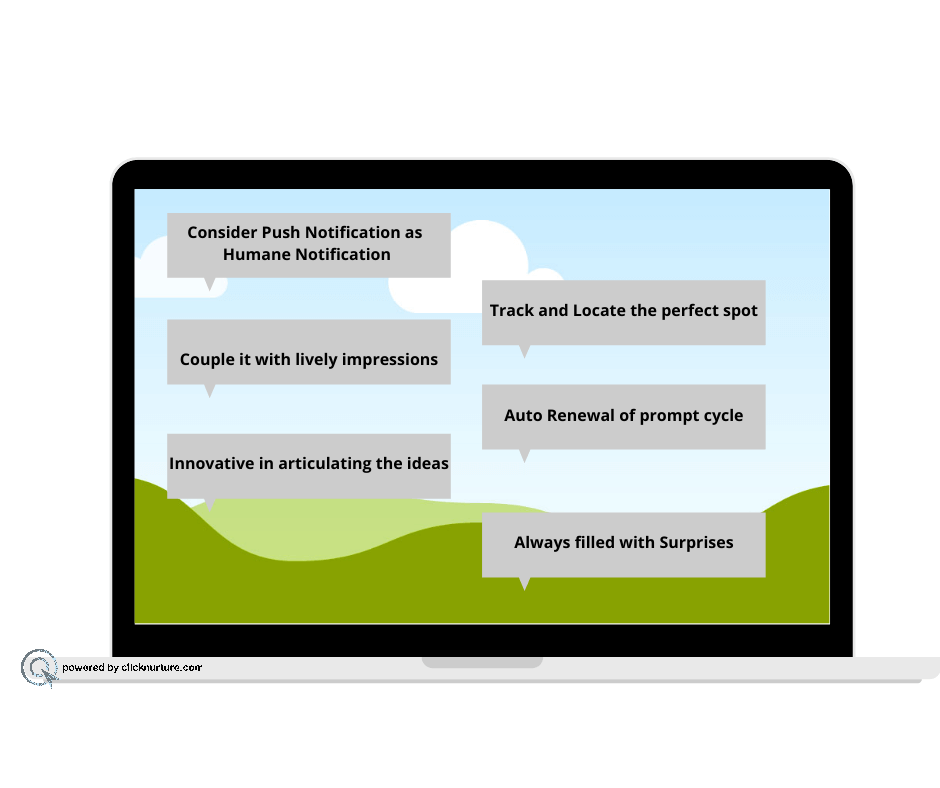 Reasons to go for Push Notifications with Clicknurture.com