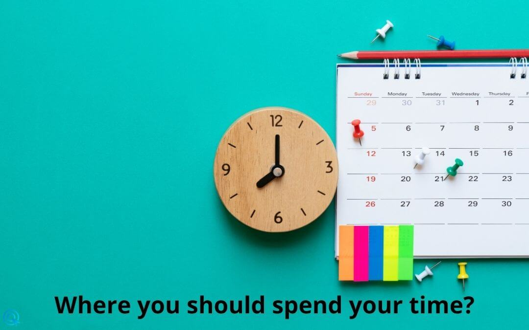 Where you should spend your time?